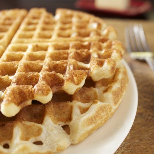 Crunchy Pecan Waffles - Delicious | ғood | Pinterest