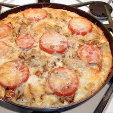 Potato and Vegetable Frittata | I could be a vegetarian | Pinterest