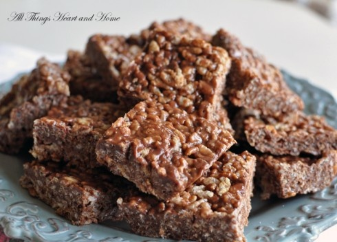 Nutella Rice Krispie Treats! Gluten Free or Not! I got the Gluten Free ...