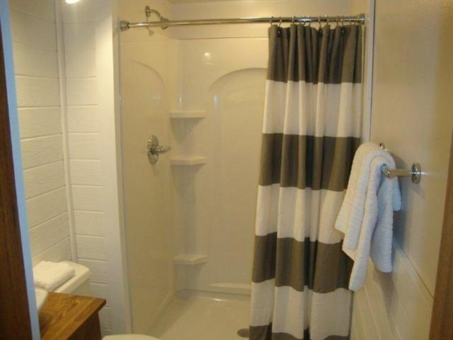 West Elm Shower Curtain Wood grain wall and wood grain west elm towels ...