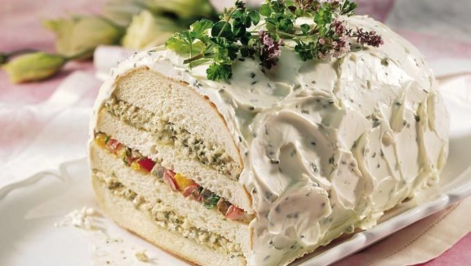 Pesto and Roasted-Vegetable Sandwich Loaf   Recipe