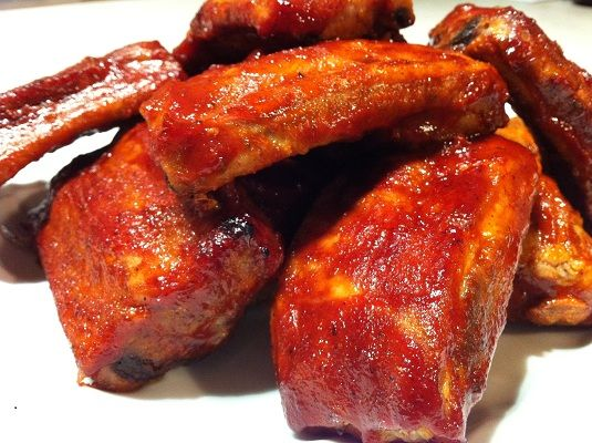 Oscar food: Oven-Baked Ribs With Maple Barbecue Sauce