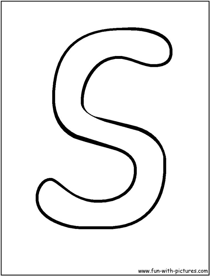 Printable Outline Letters