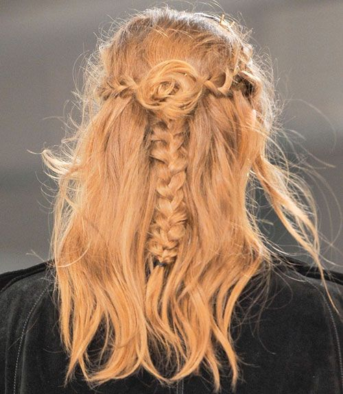 Fall 2013 Hair Trend: Braids (Rodarte)