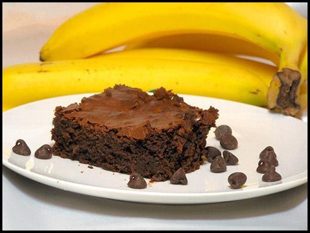 Banana Chocolate Chip Brownies | Recipe