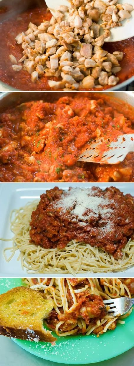 Food & Drink: Special Linguine,with Chicken Thighs