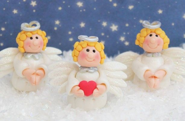 Angel Cake Decorations Although They Are Cake Decorations One Of