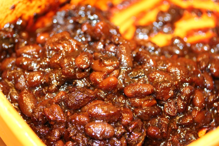 Sweet and spicy baked beans | Bon Appetit | Pinterest