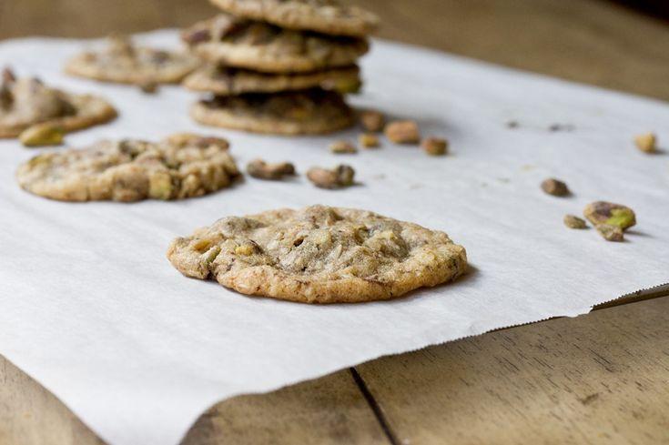 Chocolate chunk pistachio cookies | Cookies | Pinterest