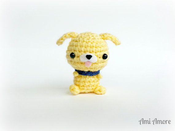 Amigurumi Animals : Amigurumi Puppy - Crochet Animal Plush