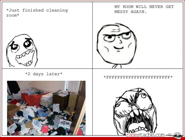 Messy room humor pinterest for Living room joke