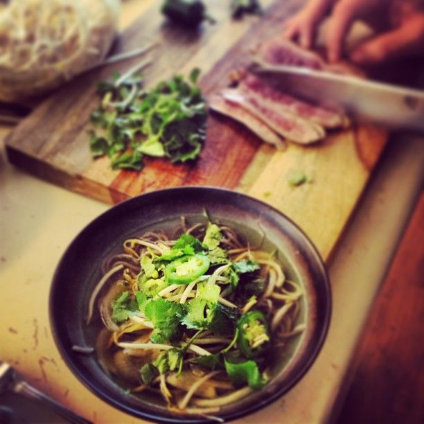 Duck Pho with duck breast | Recipes | Pinterest