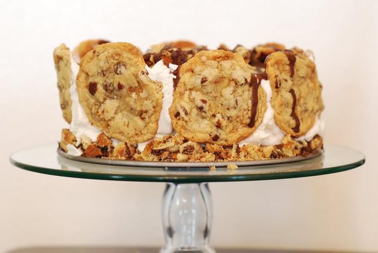 Chocolate Chip Cookie Ice Cream Cake | Everything Ice Cream | Pintere ...