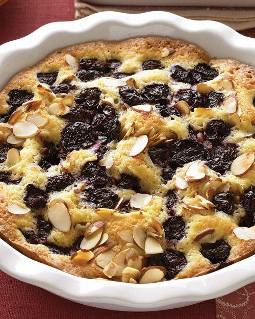 Warm Almond-Cherry Cake | Recipe