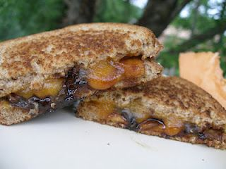 Caramelized Apple Pie Grilled Cheese | Sinful Sweets | Pinterest