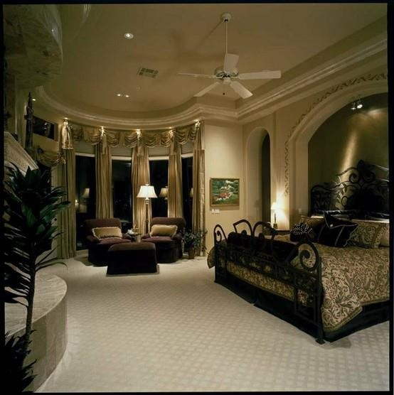 White black and gold bedroom desirable living pinterest - Black white and gold bedroom ...