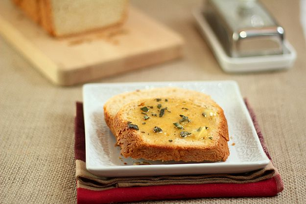 Billowy Off-White Bread with Sunflower Seeds and Honey