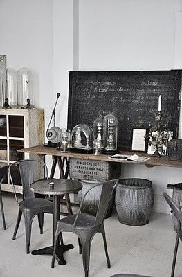 Home Decorating on Industrial   Home Decor Happiness