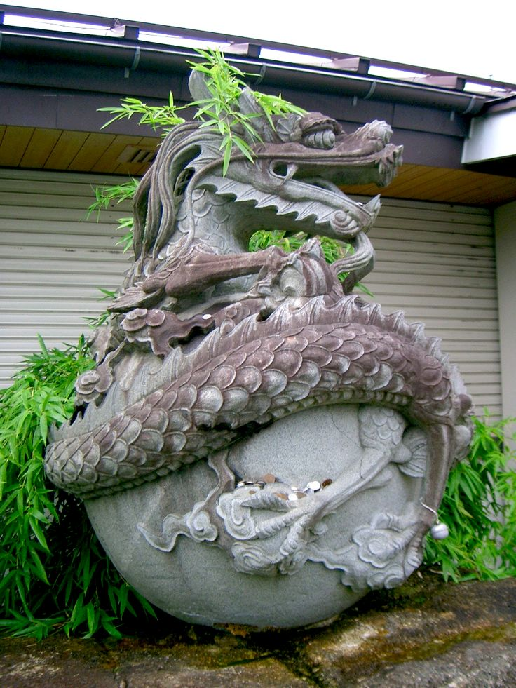 Japanese Dragon Temple The Image Kid Has It