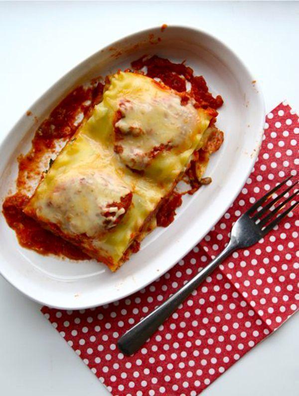 "Kale & Mushroom Lasagna Rolls! | trying this ""healthy"" thing | ..."