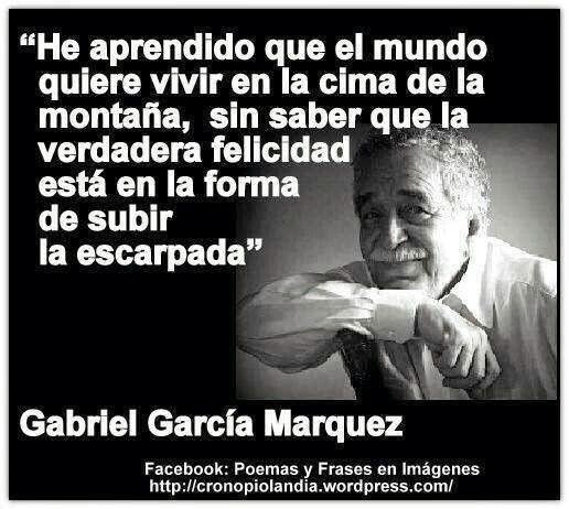 Frases de amor y sobre la vida de Gabriel García Márquez