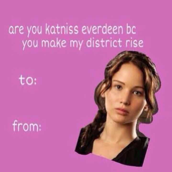 hunger games valentines day cards tumblr