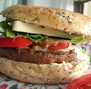 All-Star Veggie Burger For those who love meat on the barbecue, but ...