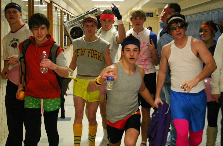 80s workout boys costumes ideas costumes and background sets
