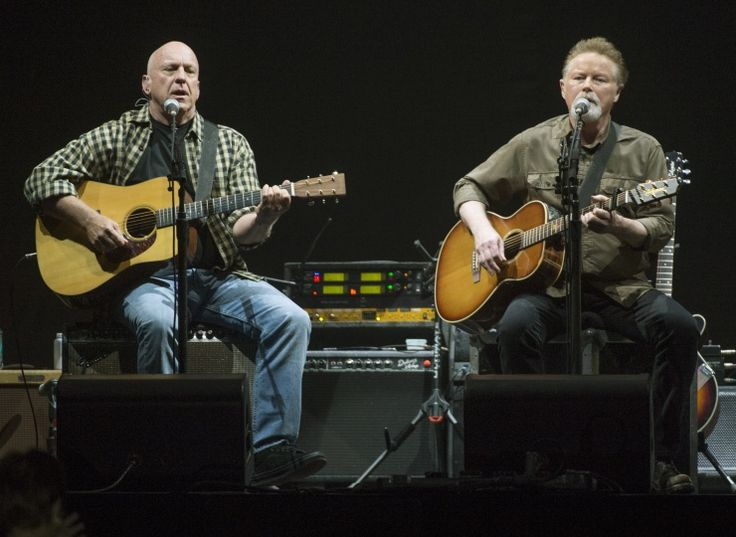 Bernie Leadon And The Eagles' Don Henley | GRAMMY.com