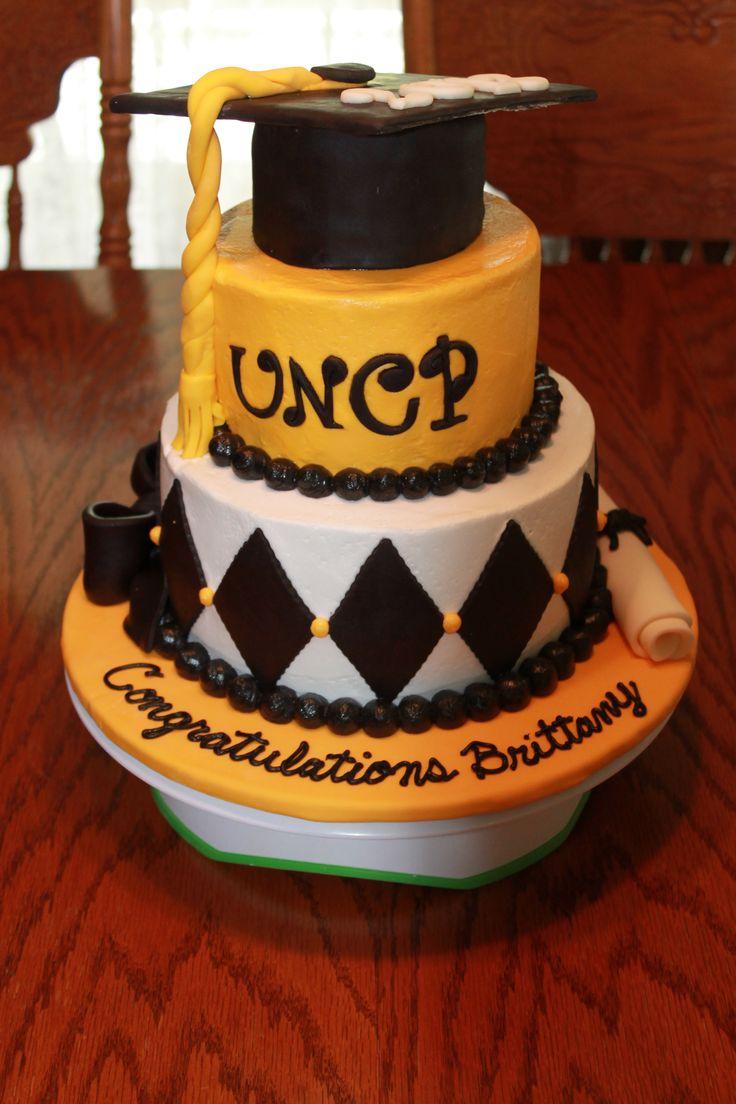 College Graduation Cake Images : UNCP College Graduation Cake Graduation...x2 Pinterest