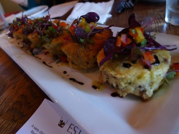 Okanagan Goat Cheese & Fig Soufflé – A freshly baked soufflé ...