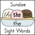 printable sight  word Sight parking lot Words