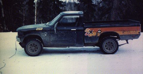 Hated It Chevy Luv 4x4 | Vehicles | Pinterest