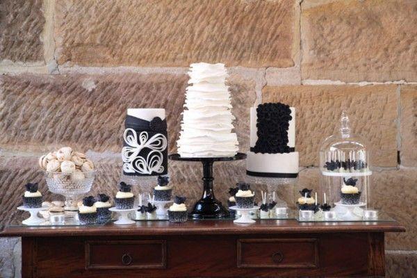 Casamento em Branco e Preto