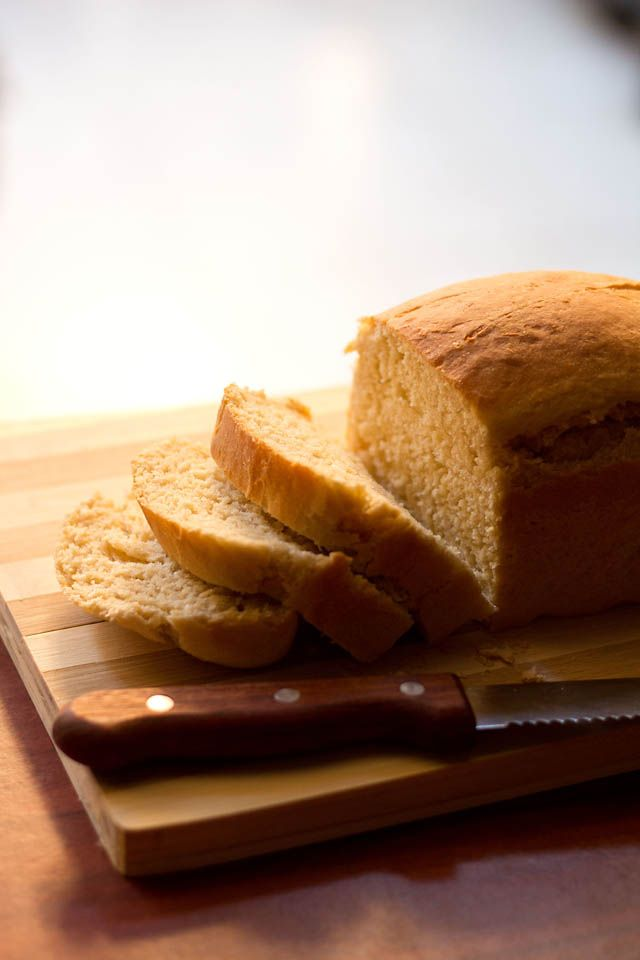 Veg Recipes of Indiabrown bread: brown bread recipe with step by step ...