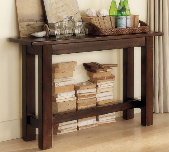 Foyer Table Pottery Barn : Hyde console table pottery barn for the home pinterest