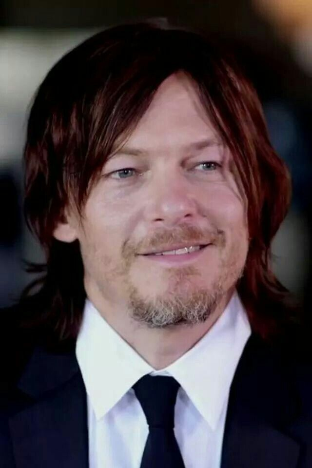 Image result for Images of Norman Reedus smiling