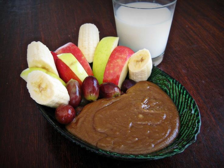Maple Peanut Butter Fondue | Recipes | Pinterest