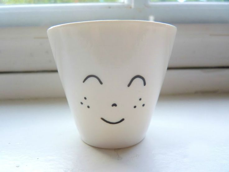 the smiling mug