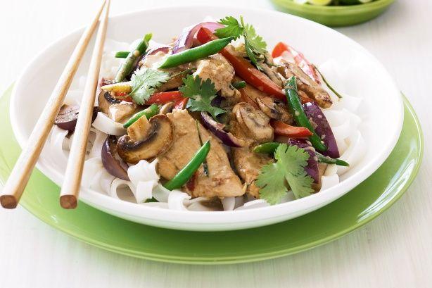 Thai coconut chicken stir-fry main image   #girls gota eat/#food/#get ...