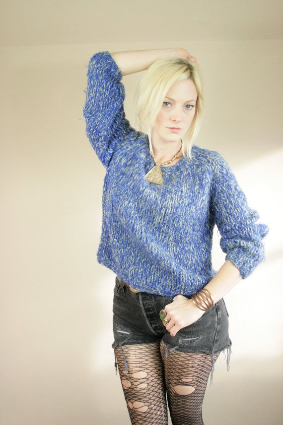 Cobalt Blue Ladies Sweater 27