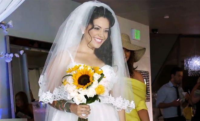 Jenni Rivera Wedding Dress