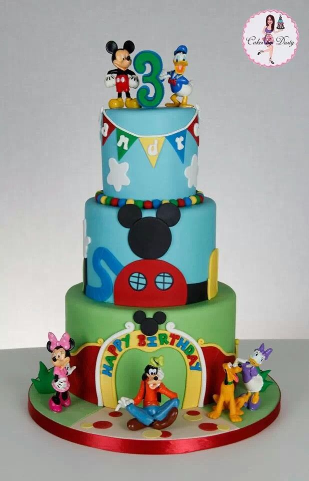 Mickey Mouse Clubhouse Cake Images : Mickey Mouse Cakes Pinterest