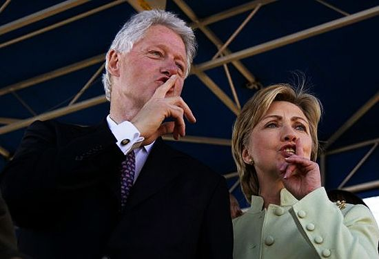 It is just so coinky dinky.....CLINTONS SEE DEAD PEOPLE, Suspicious Deaths In The Clinton Inner Circle -- Bodies... a total of 47 by last count. Nobody is making any accusations, but bad luck sure does seem to follow Clinton associates. Especially vulnerable are those with any inside info. regarding Clinton legal, potentially illegal or shady political or financial dealings. ... Here's a brief summary of 10 of those ill-fated individuals who came to suspicious or untimely demise. [...] 10/16
