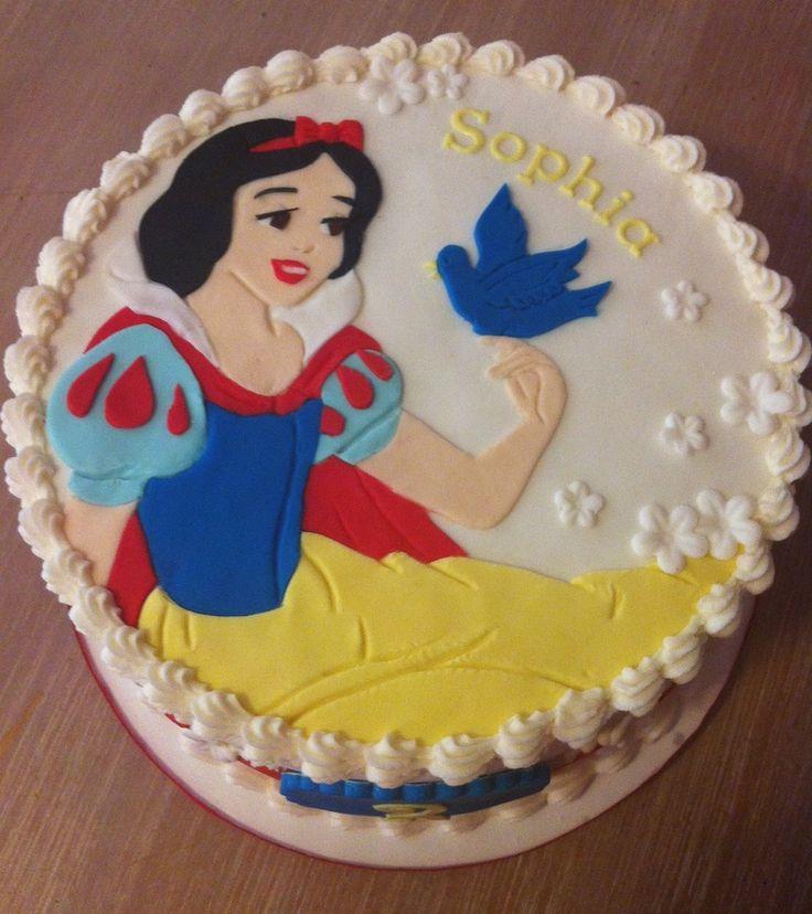 Photos Of White Birthday Cake : Snow White Cake Baking for Kids  Birthdays Pinterest
