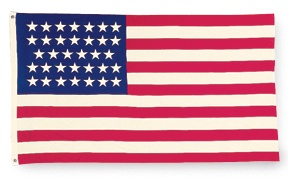 how many stars usa flag
