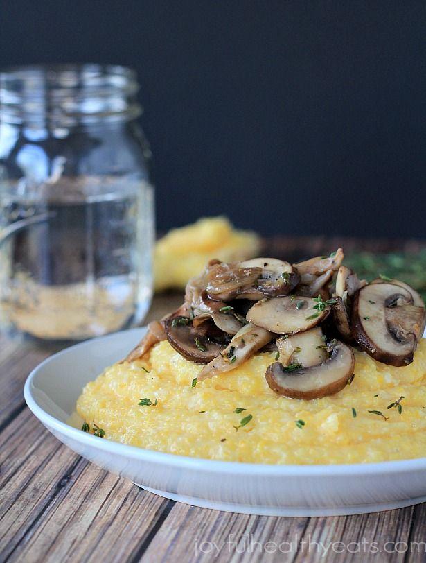 Creamy Polenta With Parmesan Recipe — Dishmaps