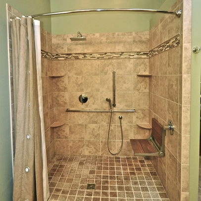Pin by annmarie andbill rozelle on handicap bathroom ideas for Handicap bathroom designs pictures