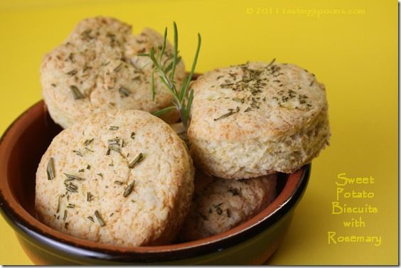 Paula Deen's Sweet Potato Biscuits with Rosemary