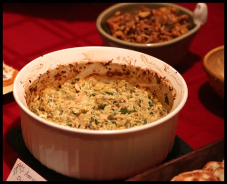 Hot artichoke-olive dip | My food experiments | Pinterest